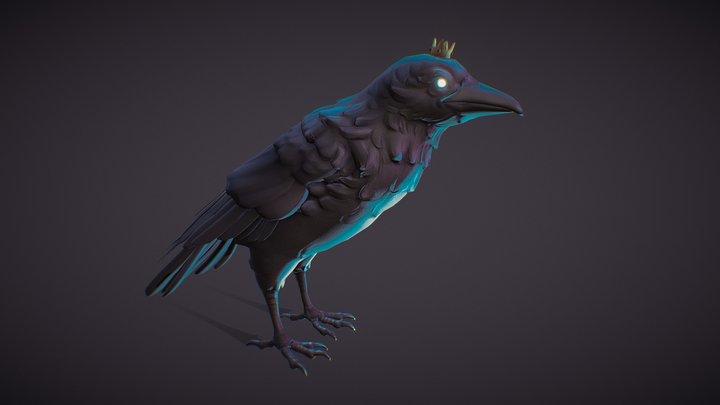 The Raven 3D Model