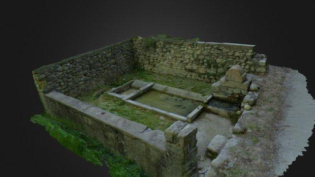 lavoir de Saint-Geniez 3D Model