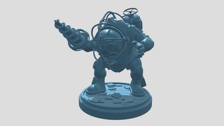 Big Daddy _portfel_low-down 3D Model