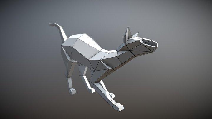 Cat sphinx 3D Model