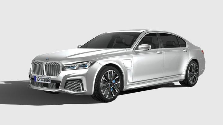 BMW 7-series M long 2020 3D Model