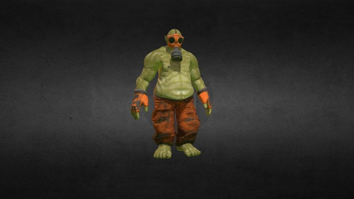 Debacle Enforcer 3D Model