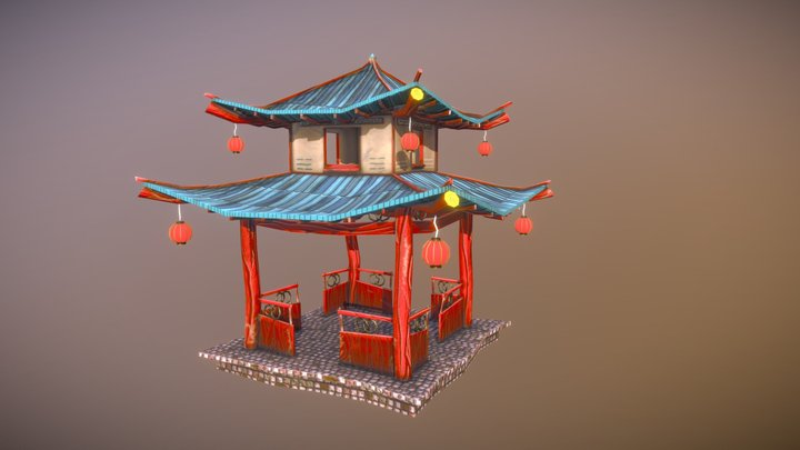 Pagoda 3D Model
