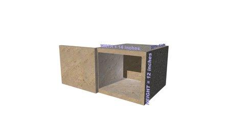Aeternum Columbary Niche 3D Model