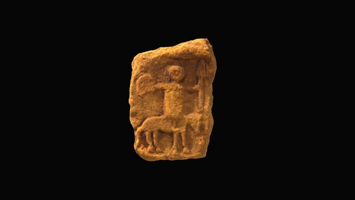Romano-Celtic Warrior Figure 3D Model