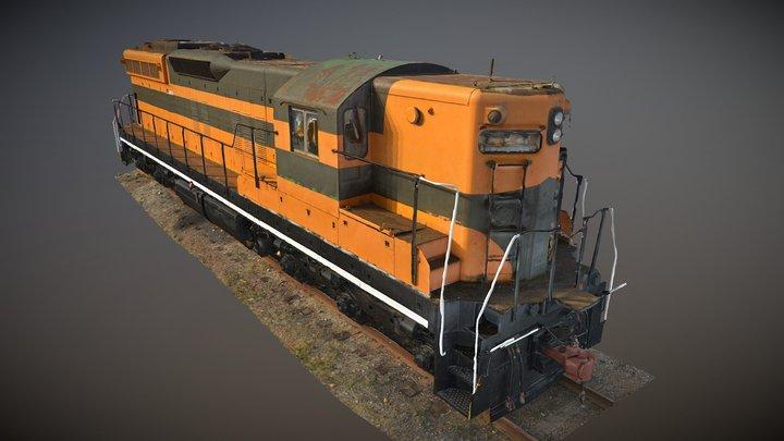 Great Northern EMD SD9 #599 3D Model