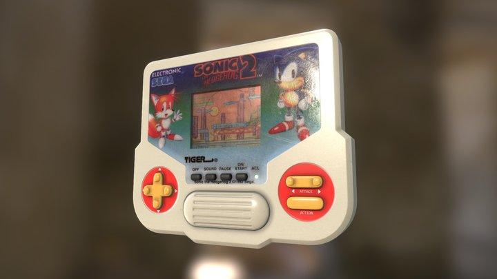 Tiger Handheld Games Console 3D Model