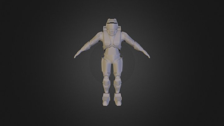Personal Project Halo 3D Model