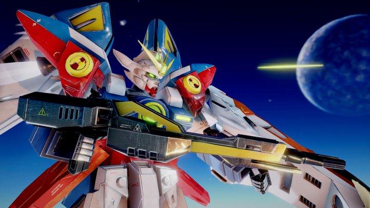 Gundam Zero Wing XXXG-00W0 3D Model