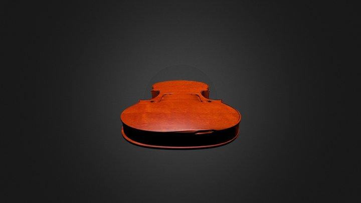 Violin INCOMPLETO x.x 3D Model