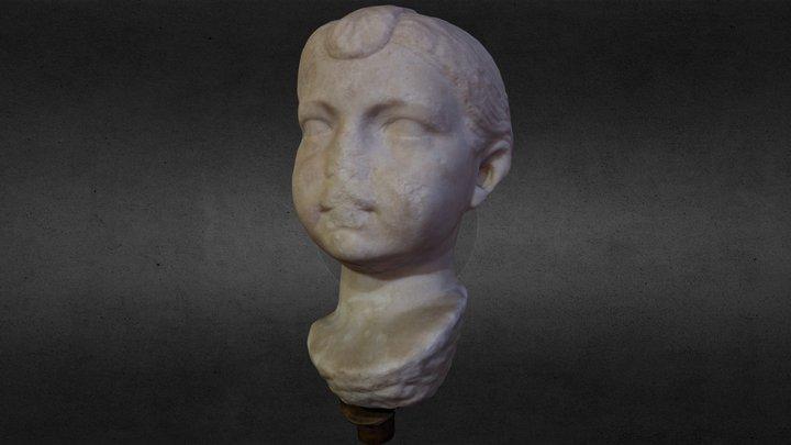 Statuetta Modello Museo Archeologico Treia 3D Model