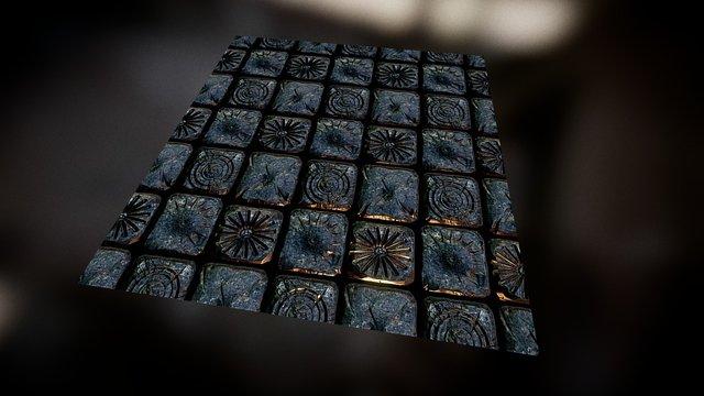 Small Stone Pattern 3D Model