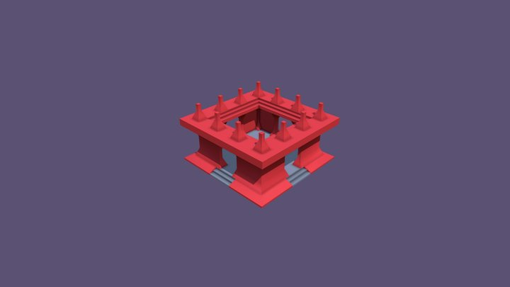 Folly_02 3D Model