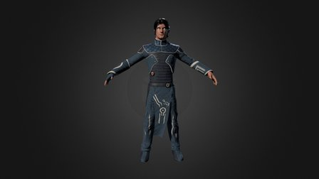 Jace Beleren 3D Model