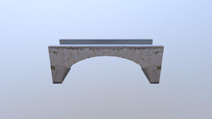 Small Bridge 3D Model