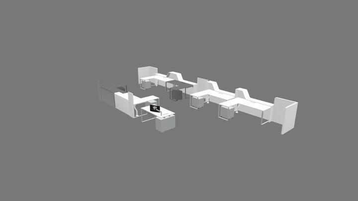Monte dei Paschi di Siena 3D Model