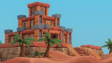 The Desert Tomb 3D Model