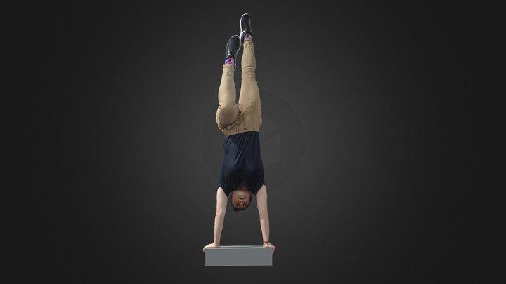 Handstand 3D Model