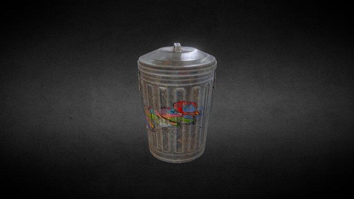 Trashcan/Bin 3D Model