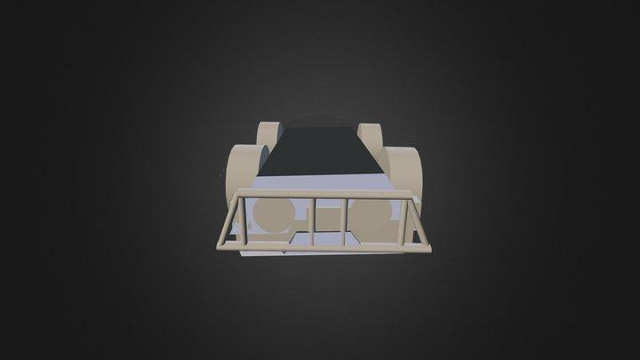 Carro Militar 3D Model