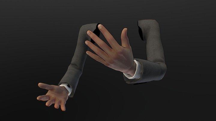 Free FPS-Hand's 3D Model