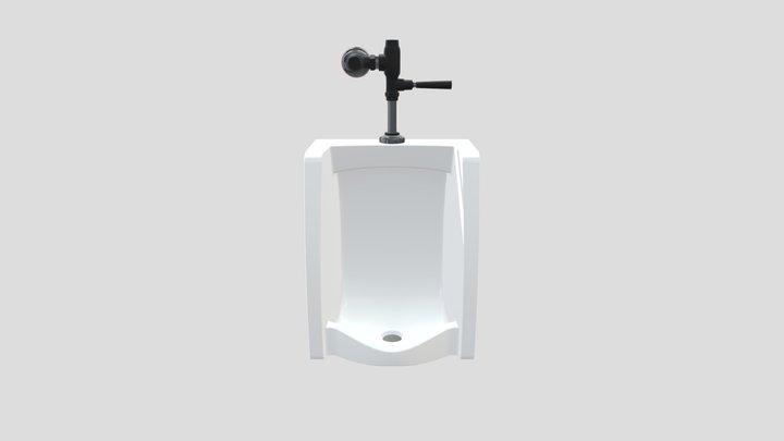 hanging urinal 3D Model
