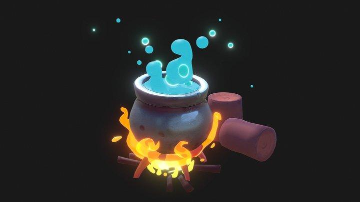 Magic pot 3D Model