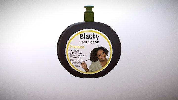 shampoo silk 3D Model
