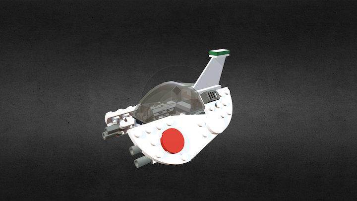 Octan spaceship 3D Model