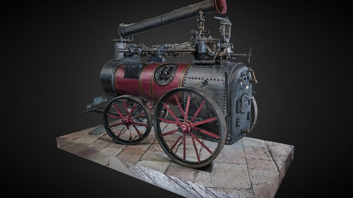 Locomovil Alegría photogrammetry scan 3D Model