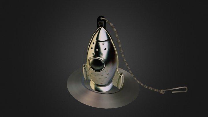 Rocket tea infuser 3D Model