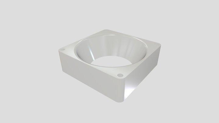 Ventilator extension 3D Model