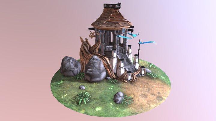 Fantasy Gazebo 3D Model