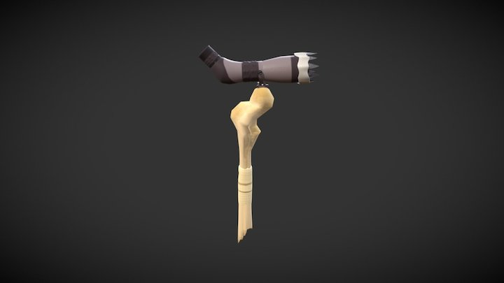 Spotting Scope Textures 3D Model