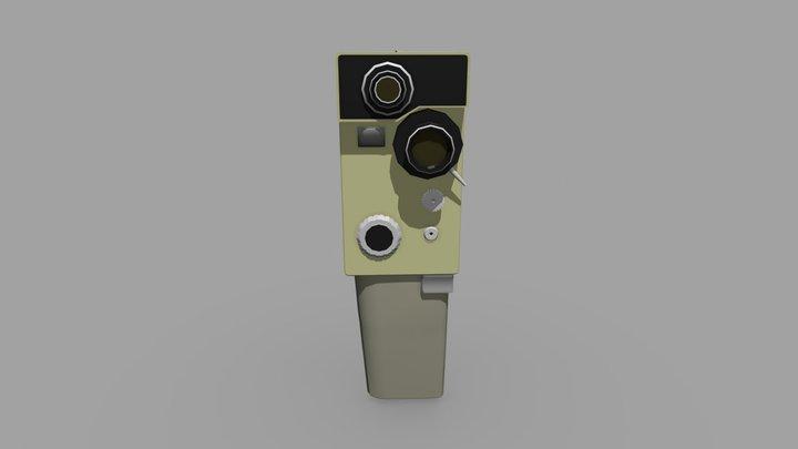 "Video camera ""Aurora"" 3D Model"