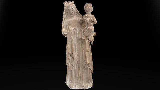 Virgen Museo de la Catedral de Valencia 3D Model