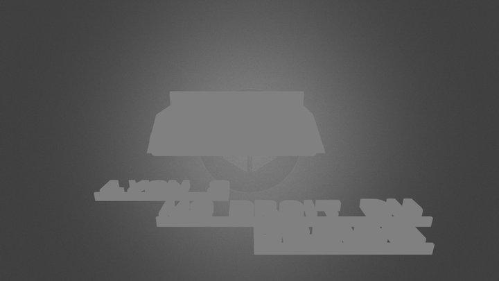 Canapé - Fusée  3D Model