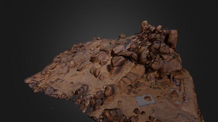 Sphinx locality, Sabaloka, North Sudan 3D Model