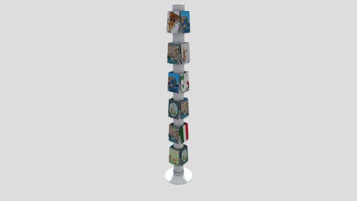 Cardstand 3D Model