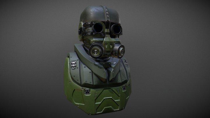 Headgear Concept 3D Model
