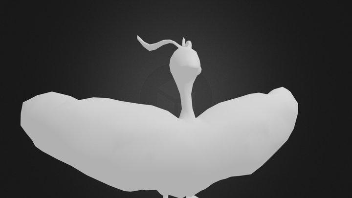 Altaria 3D Model