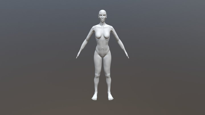 Cyber Nomad Character Milestone 1 3D Model