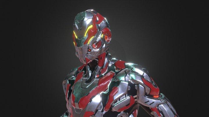 Biotech - Rogue 3D Model