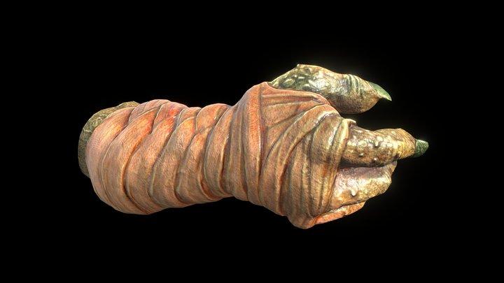 Strong Hand 3D Model