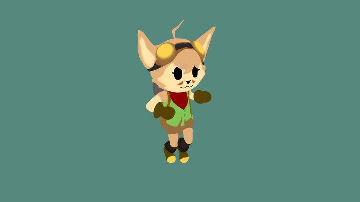 Lil Cutie: Hex 3D Model
