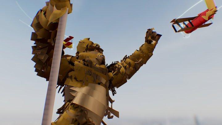 Kocour - King Kong 3D Model