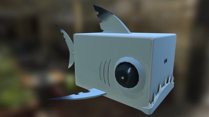 Cube-Shark 3D Model