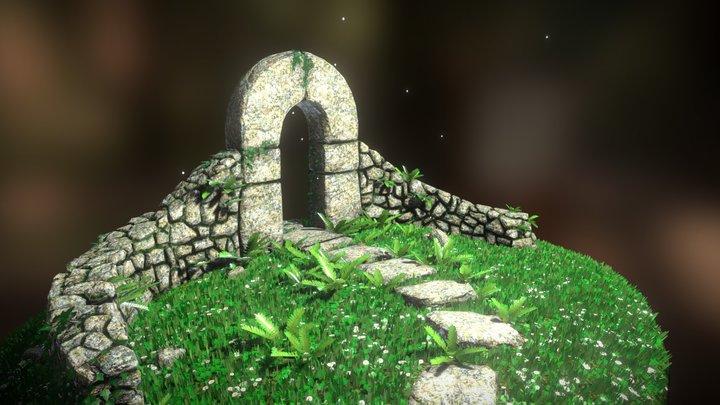 Garden Entrance 3D Model