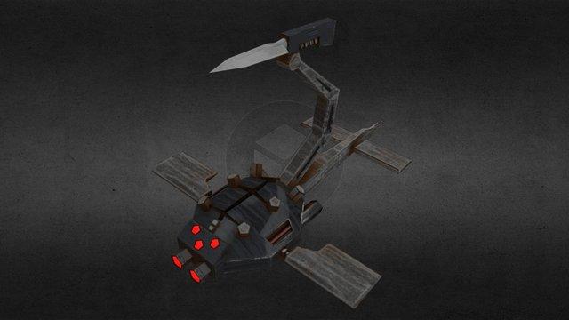 Aquatic drone 3D Model