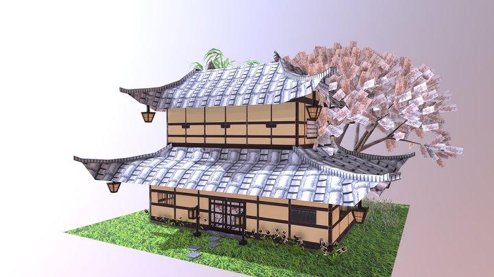 05 Christina's final Dream house project 3D Model